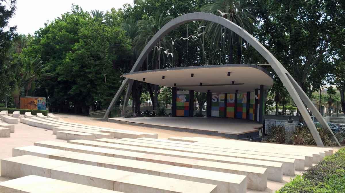 Parque de Malaga Freilichtbühne