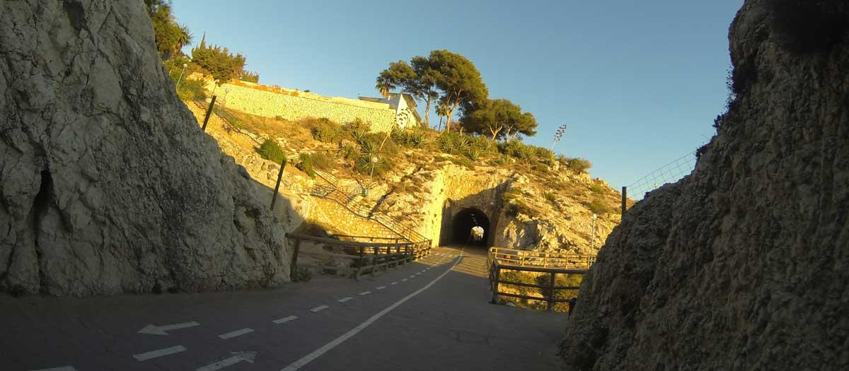 Rincon de la Victoria Tunnel