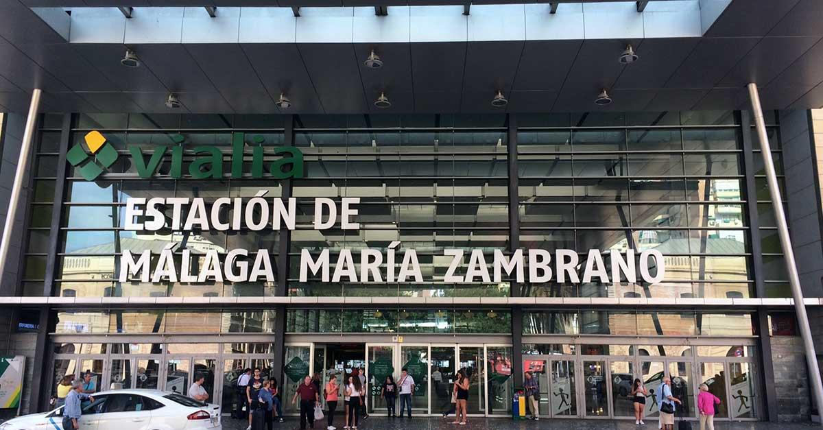 Bahnhof Malaga Maria Zambrano