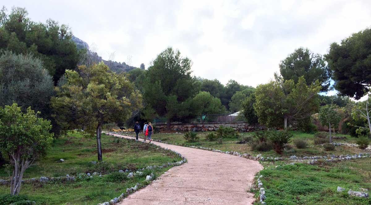 Wanderung auf den Mirador del Lobo