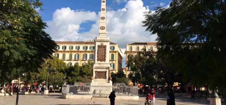 Sehenswürdigkeiten auf und um die Plaza de la Merced in Málaga