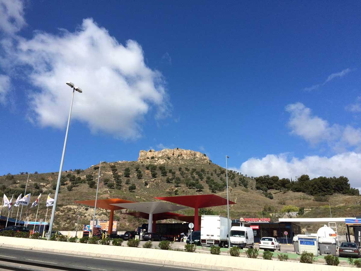 Monte Coronado: Einstieg zur Route