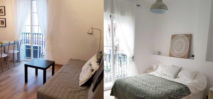 TIPP: Luminöse Ferienwohnung in Málaga Zentrum – Ferienapartment komplett ausgestattet