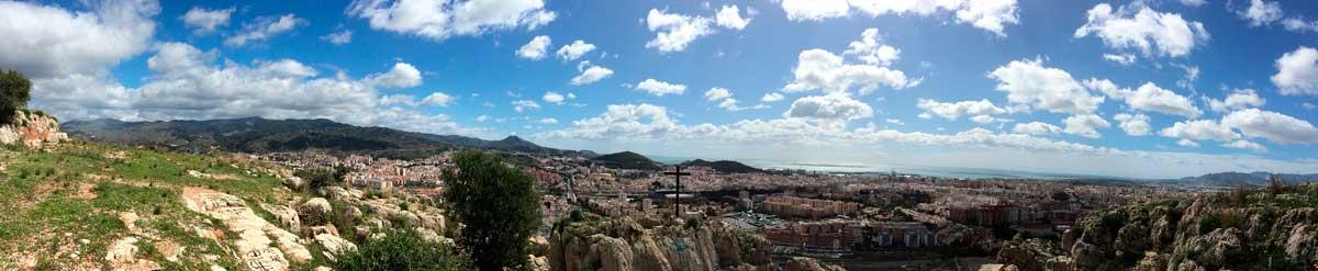 Panorama Monte Coronado