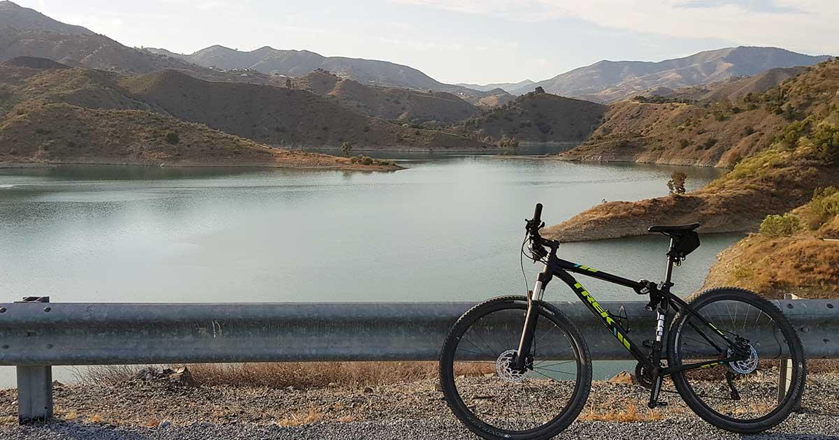 Málaga Radtour Ausflugstipp